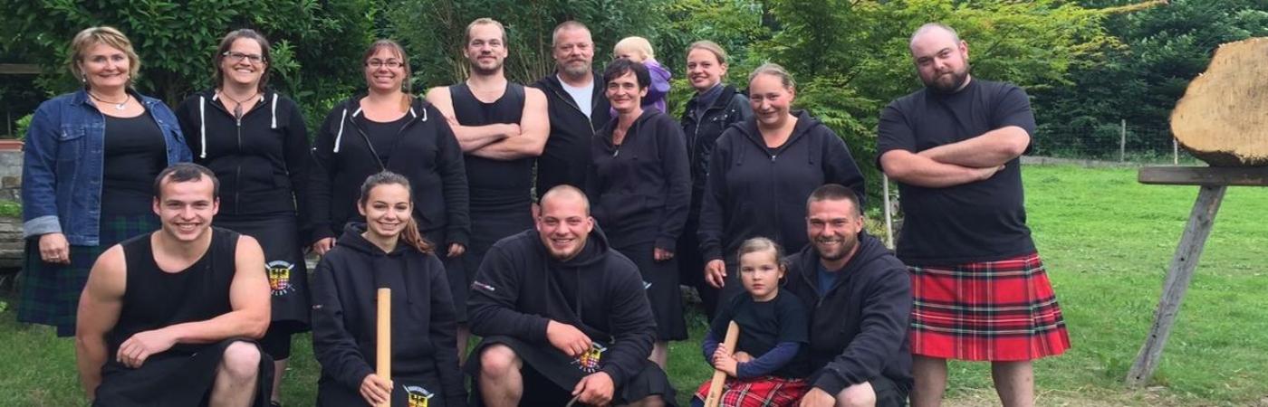 Der ganze Braveheart Clan