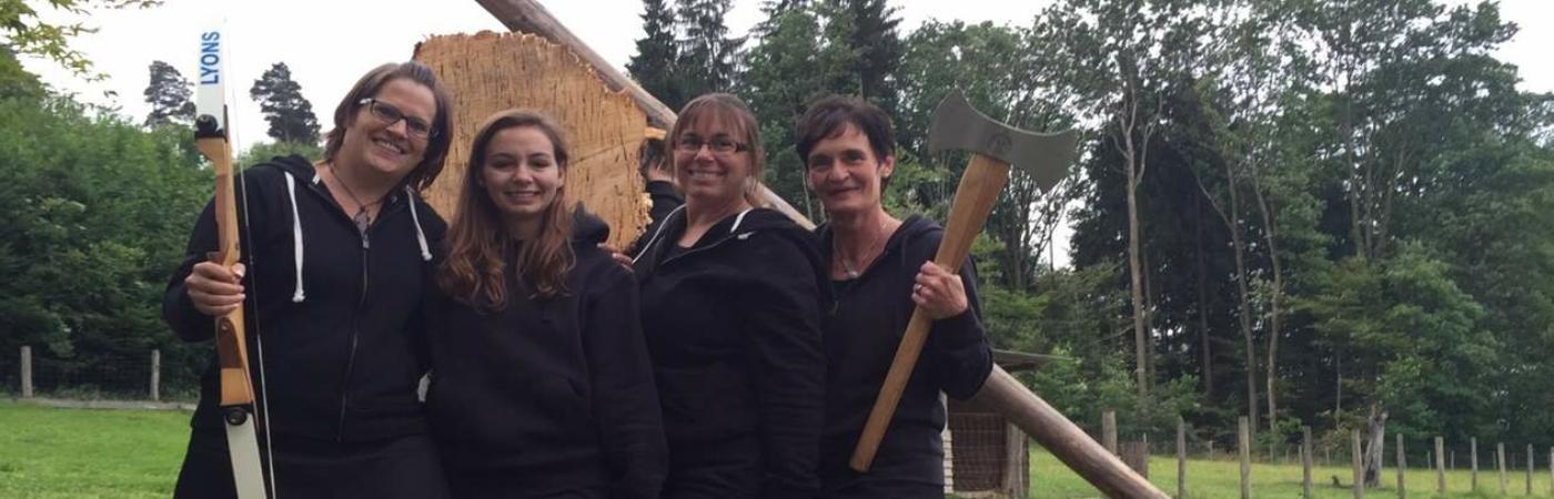 Frauen vom Braveheart Clan