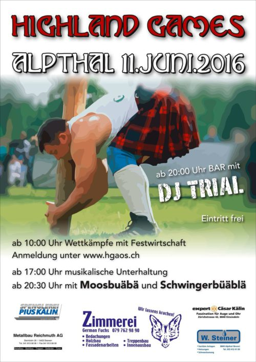 Highland Games Alpthal