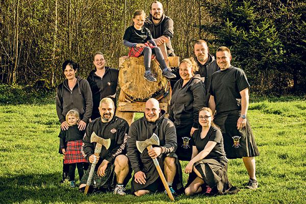 Braveheart Clan in der Coop Zeitung vom 21.04.2017